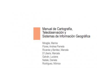 manual de cartografía, teleobservación y sig