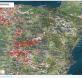 mapa riesgo radón
