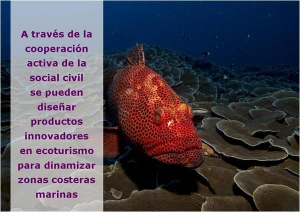 sostenibilidad participativa de los recursos marinos con fines ecoturísticos