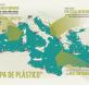 la trampa de plástico