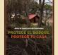 protege el bosque, protge tu casa