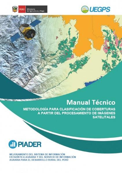 """Metodología para clasificación de coberturas a partir del procesamiento de imágenes satelitales"""","""