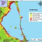 El nivel del agua en el Mar Menor podría aumentar metro y medio en 100 años