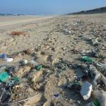Un estudio mide cuánta basura dejamos en la playa