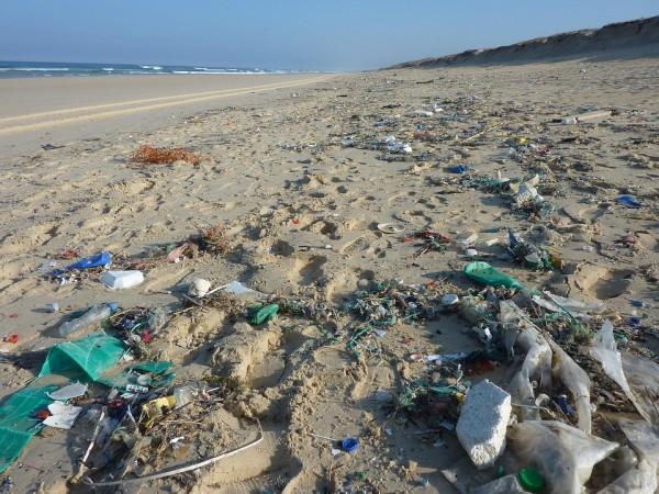 Residuos playa