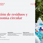 Gestión de residuos y Economía Circular