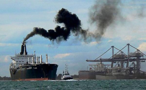 El nuevo modelo calcula el consumo energético de un barco y las emisiones contaminantes que lanza a la atmósfera en tiempo real. / Fundación Descubre