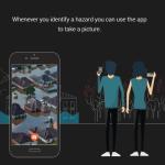 App para la protección contra desastres naturales