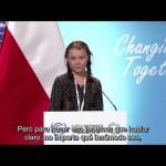Discurso de Greta Thunberg en la COP24