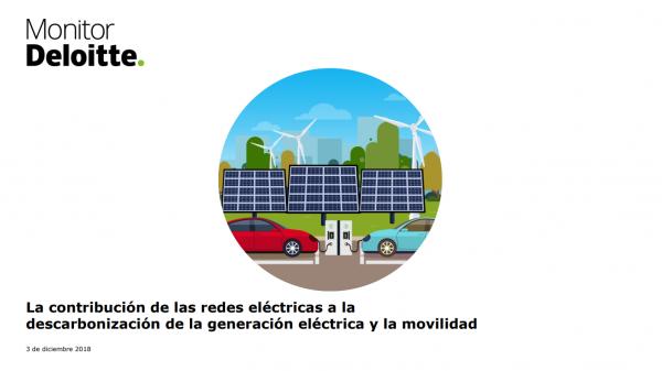 contribución redes electricas a descarbonización de generación electrica y movilidad