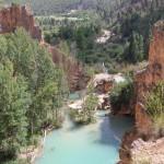 A información pública la declaración como Monumento Natural de las Chorreras del Cabriel