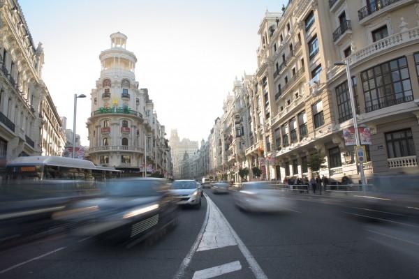 Contaminación atmosférica causada por tráfico rodado