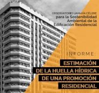 Informe Huella Hídrica de una promoción residencial