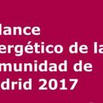 Balance Energético de la Comunidad de Madrid 2017
