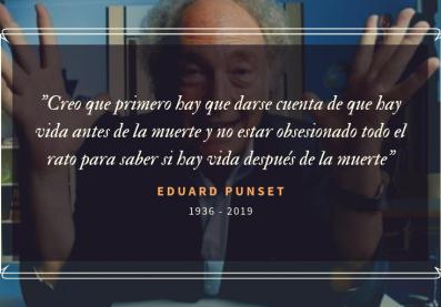 Eduard Punset falleció ayer, 22 de mayo de 2019