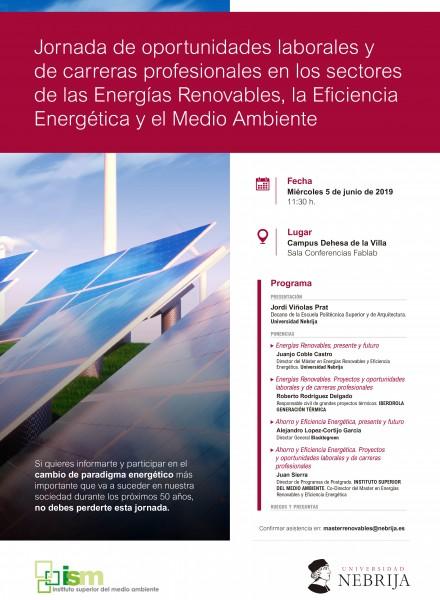 Oportunidades laborales en energías renovables y eficiencia energética