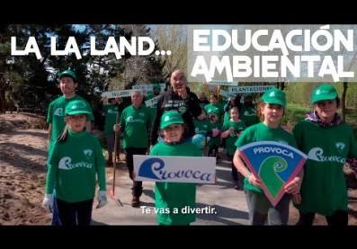 Provoca Land. Provoca es para ti. Voluntariado y educación ambiental.