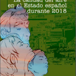 La calidad del aire en el Estado español durante 2018