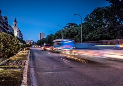 Tráfico en Madrid. Foto: Pixabay
