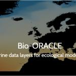 Bio Oracle: Cartografía Marina para modelización ecológica