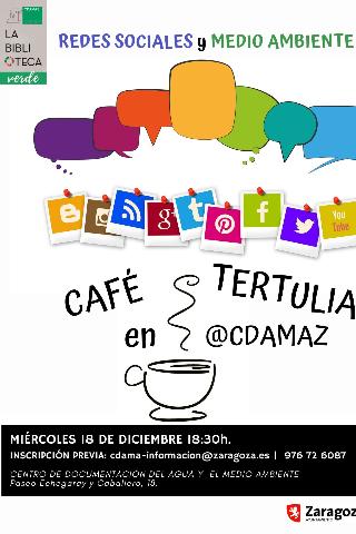 cafe tertulia redes sociales y medio ambiente