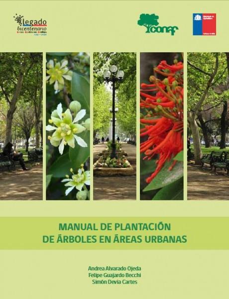 manual plantacion arboles en areas urbanas