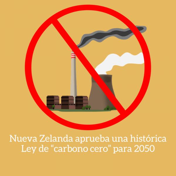 nueva zelanda ley carbono cero
