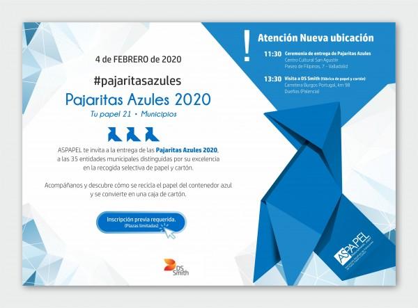 pajaritas azules 2020