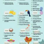 Calendario ecológico del año 2020, las fechas más importantes para el Medio Ambiente