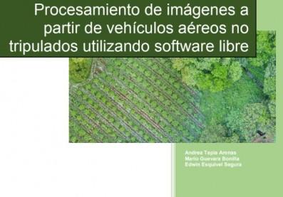 manual procesamiento de imagenes a partir de drones