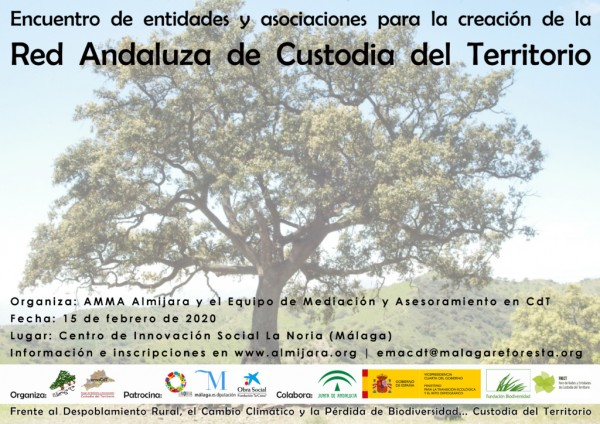 creacion red andaluza de Custodia del Territorio