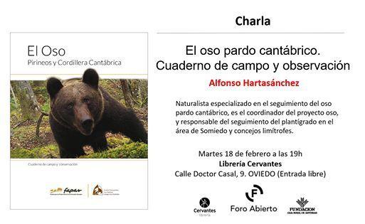 charla el oso pardo cantabrico