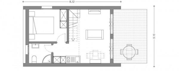 tiny house micro casa plano
