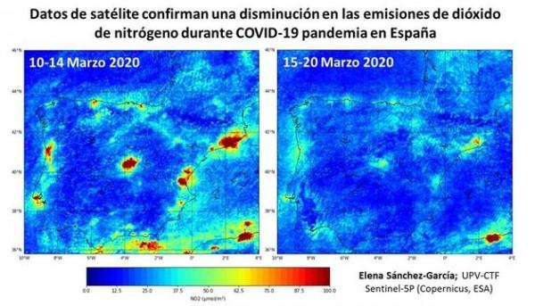 Contaminación en España
