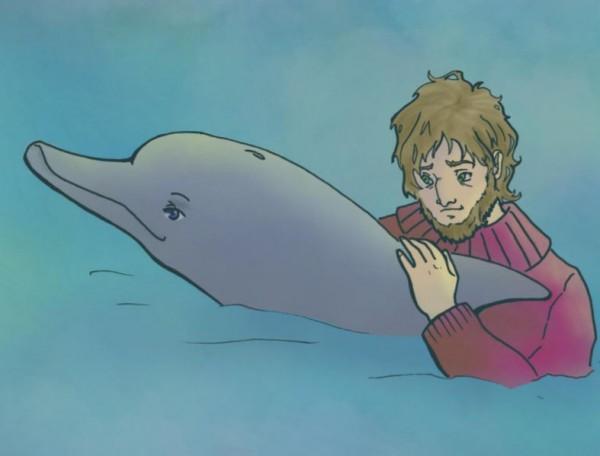 El delfín bondadoso