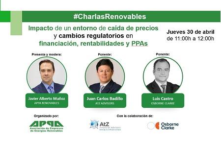 charlas renovables