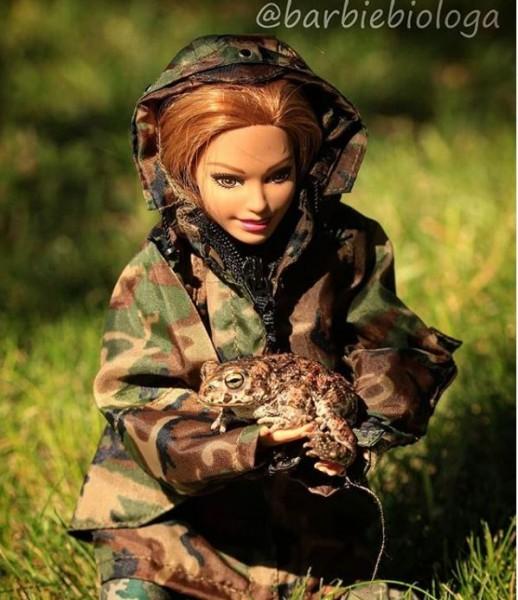 Una de las fotografías publicadas por Barbie Bióloga