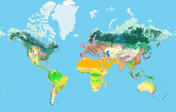 Nature Map Explorer