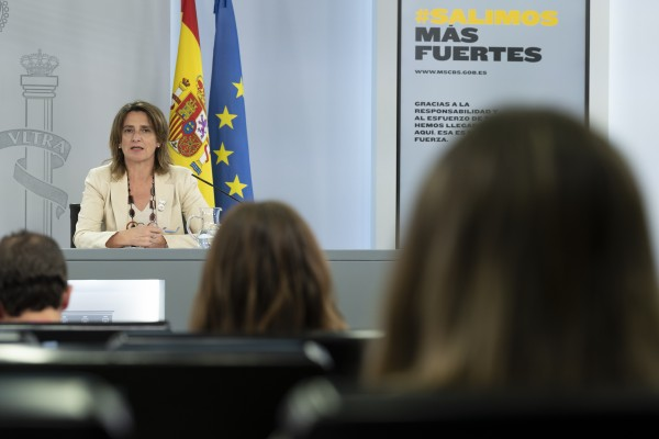 La ministra Teresa Ribera/ Fuente: MITECO