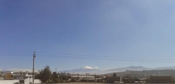 Vista Volcan Cotopaxi