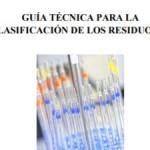Guía técnica para la clasificación de los residuos