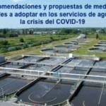 Bases para un Plan de Contingencias ante el COVID-19 en los servicios de agua y saneamiento