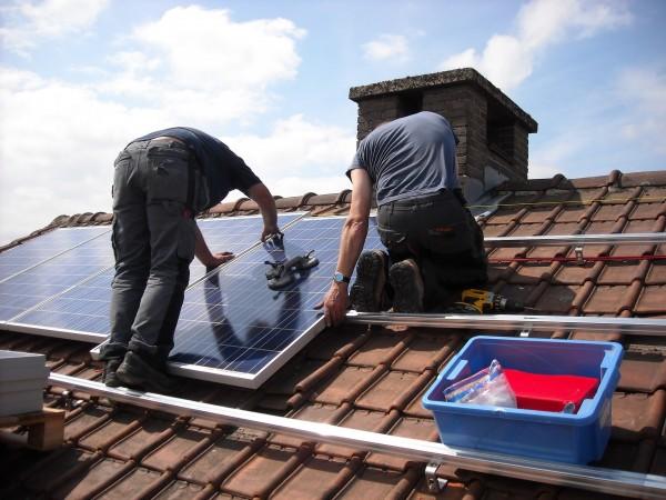 paneles solares tejados