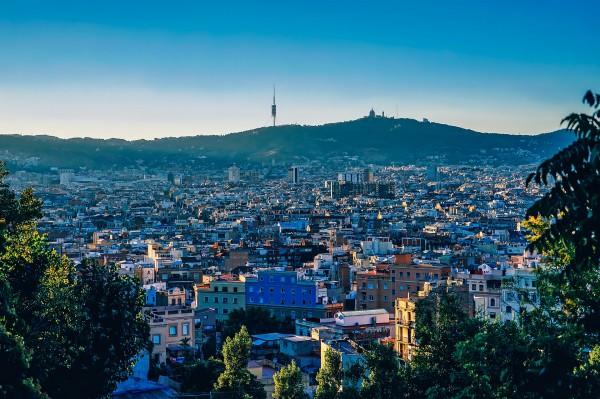 Vista edificios Barcelona
