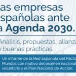 Las empresas españolas ante la Agenda 2030