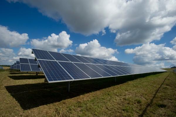 energía solar paneles
