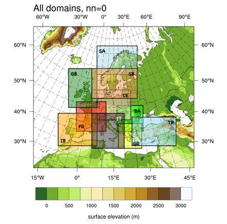 dominios de mesoescala