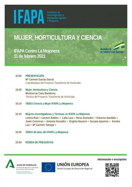 horticultura y mujer