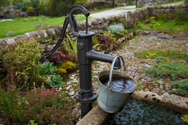 agua subterránea pozos