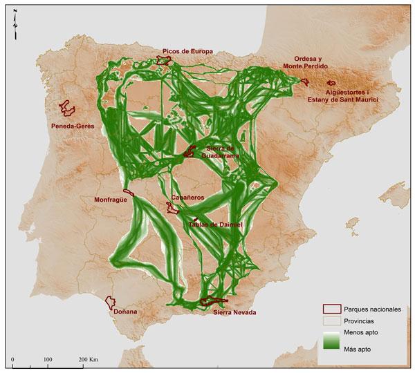 mapa corredores